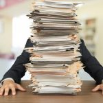 Image of large pile of paperwork